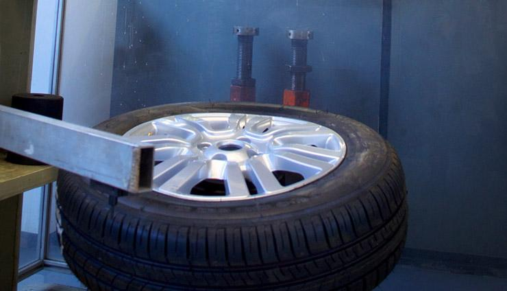 Rim rolling test (wheel with tyre) | TO